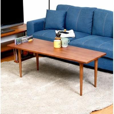 センターテーブル ローテーブル おしゃれ 北欧 木製 リビングテーブル コーヒーテーブル 応接テーブル デスク 机 ブラウン 幅120 奥行50