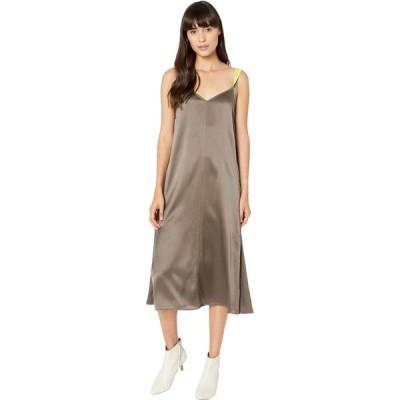 ラグ&ボーン rag & bone レディース ワンピース スリップドレス ワンピース・ドレス Colette Slip Dress Grey Moss