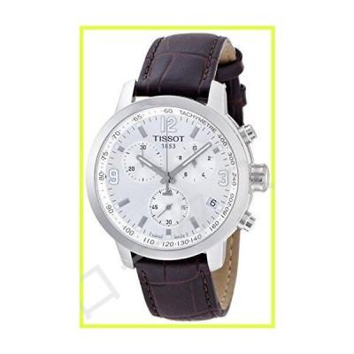 ティソt0554171603700?t-sport PRC 200メンズブラウンクロノグラフ腕時計 並行輸入品