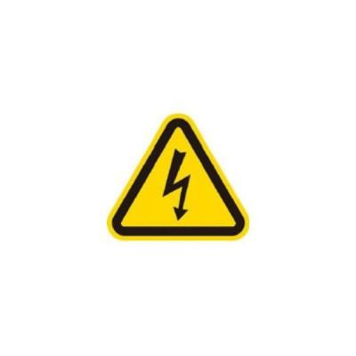 AIMARK/アイマーク  三角ラベル電気危険 100mm(一辺の長さ) AT2-L