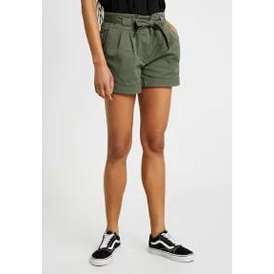 Oasis レディースパンツ Oasis CASUAL - Shorts - khaki kha