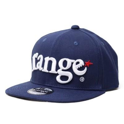 ベースボールキャップ  range  レンジ CAP  original snap back  navy