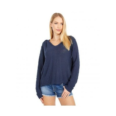 Roxy ロキシー レディース 女性用 ファッション セーター Shades of Cool Hooded Poncho - Mood Indigo