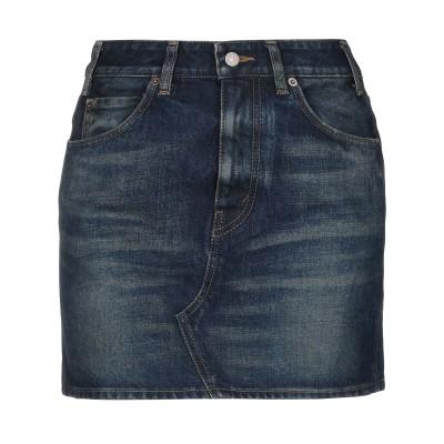 セリーヌ CELINE デニムスカート ブルー 26 コットン 100% デニムスカート