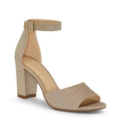ジェシカシンプソン レディース サンダル シューズ Sherron Ankle Strap Block Heel Sandals