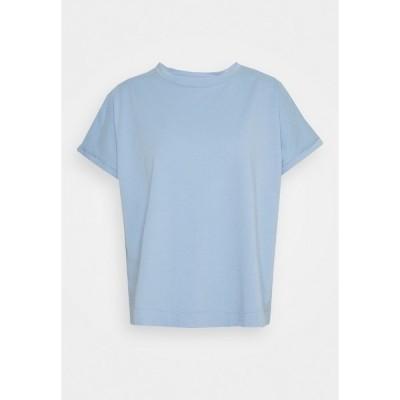 エフ ティ シー カシミア Tシャツ レディース トップス Basic T-shirt - cornflower
