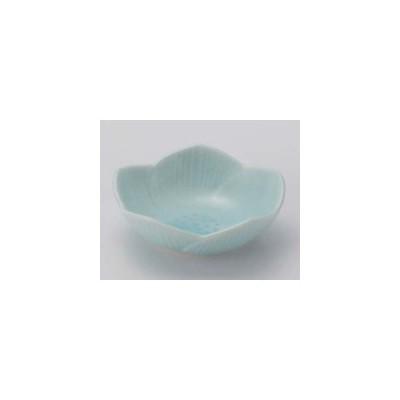業務用食器 青磁花型6.5�珍味 6.5×2�