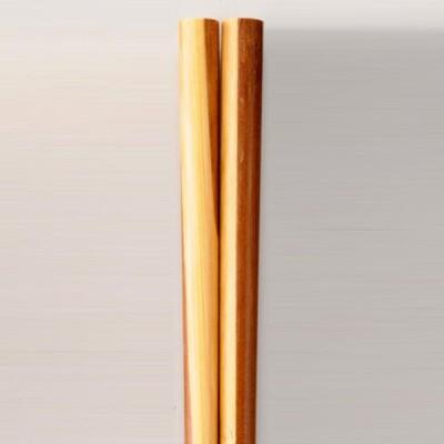 天然竹製 箸 竹取物語 漆塗り 23cm(日本国内加工品)