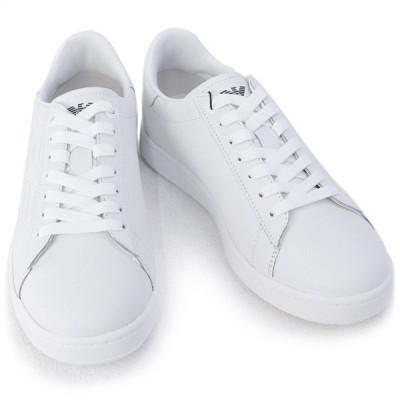 エンポリオアルマーニ イーエーセブン EMPORIO ARMANI EA7 靴 メンズ スニーカー ホワイト (X8X001 XCC51 00001 WHITE) 2020年秋冬新作