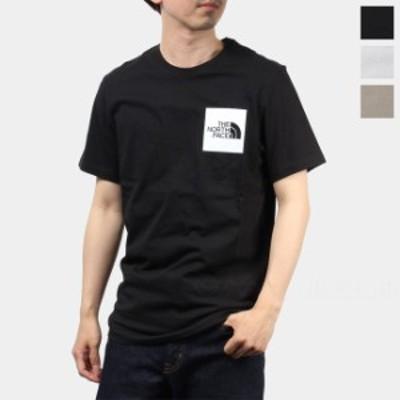 ザ ノースフェイス THE NORTH FACE メンズ Tシャツ 半袖 FINE TEE TNF BLACK 全5サイズ 全2カラー CEQ5 売れ筋【ネコポス選択で送料240円