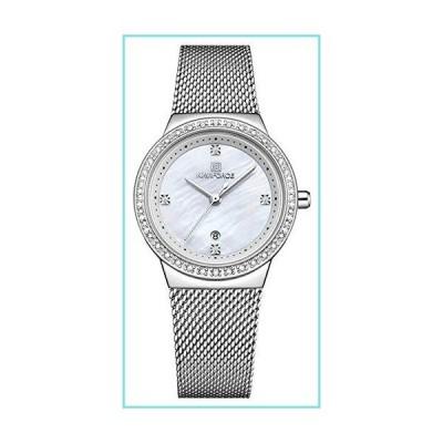 Tonnier 腕時計 レディース腕時計 ファッションダイヤモンドダイヤル アナログクォーツ腕時計 レディー