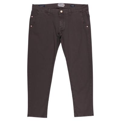 BARBA Napoli パンツ ダークブラウン 40 コットン 98% / ポリウレタン 2% パンツ