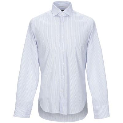 WEBB & SCOTT CO. シャツ スカイブルー 39 コットン 97% / ポリウレタン 3% シャツ