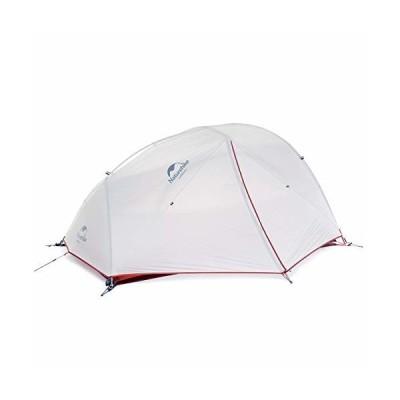 Naturehike公式ショップ テント 2人用 アウトドア 二重層 超軽量 4シーズン 防風防水 PU4000 キャンピング (グレー