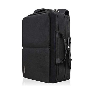 Lxlux Backpack Men's Business Backpack Multi-Function Large-Capacity Portable Diagonal Business Trip Computer Briefcase【並行輸入品】