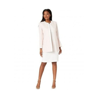 Le Suit レディース 女性用 ファッション スーツ Jacket/Dress Suit Set - Light Blossom/Vanilla Ice