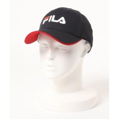 帽子 キャップ 【FILA:フィラゴルフ】メンズ ロゴキャップ / ゴルフ