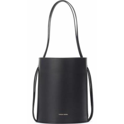 マンサーガブリエル Mansur Gavriel レディース バッグ バケットバッグ fringe leather bucket bag Black/Flamma