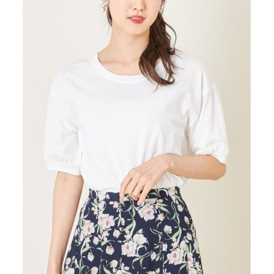 tocco closet / シンプルコットンカットプルオーバー WOMEN トップス > Tシャツ/カットソー