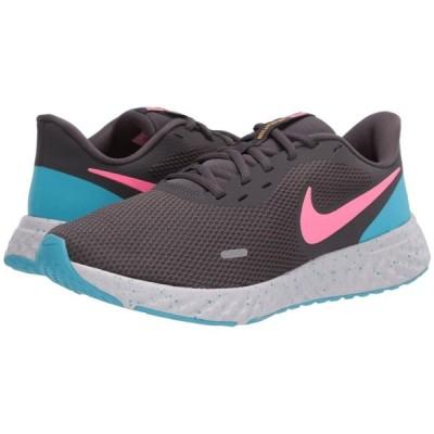 ナイキ Nike レディース ランニング・ウォーキング シューズ・靴 Revolution 5 Thunder Grey/Digital Pink/Blue Fury