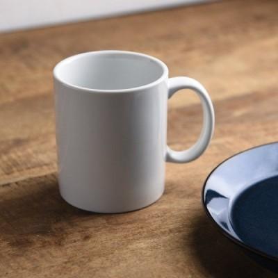 11.5cmシンプル切立マグカップ ホワイト