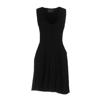 PHILIPP PLEIN ミニワンピース&ドレス ブラック M 70% レーヨン 30% ポリエステル ミニワンピース&ドレス