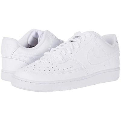 ナイキ Court Vision Lo メンズ スニーカー 靴 シューズ White/White/Black