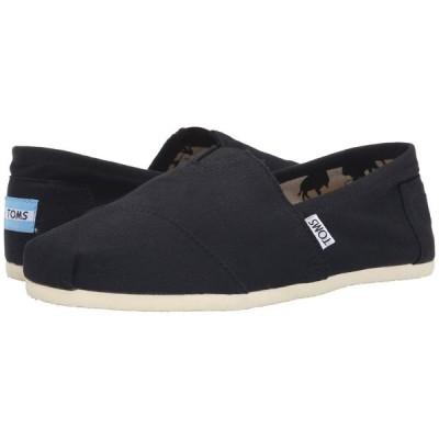 トムス TOMS メンズ ローファー シューズ・靴 Classic Alpargata Black