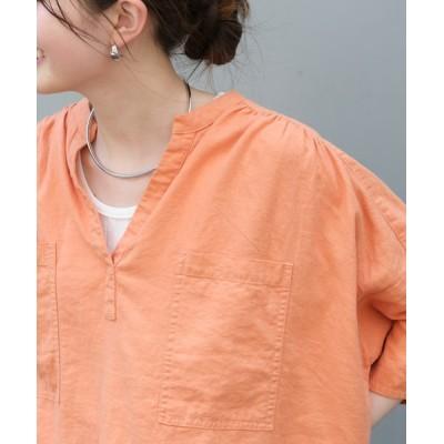 CIAOPANIC TYPY / 【OSORO】リネンレーヨンスキッパーシャツ WOMEN トップス > シャツ/ブラウス