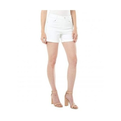 Liverpool ライブプール レディース 女性用 ファッション ショートパンツ 短パン Gia Glider Rolled Shorts - Bright White