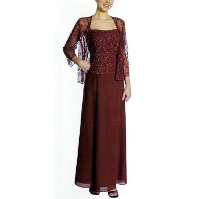パーティードレス [ボレロ付き・大人の刺繍ドレス] HH-003