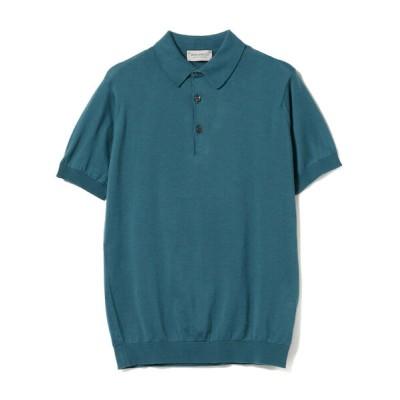 BEAMS MEN / JOHN SMEDLEY / KIERAN コットン ニットポロシャツ MEN トップス > ポロシャツ