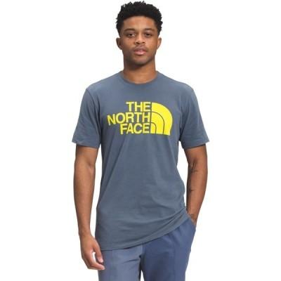 ノースフェイス シャツ トップス メンズ The North Face Men's Half Dome New Fit Short Sleeve T-shirt Blue Medium 04