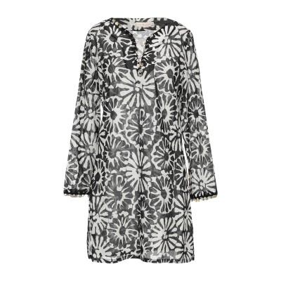 トリー バーチ TORY BURCH ミニワンピース&ドレス ブラック XS コットン 100% / ポリエステル ミニワンピース&ドレス