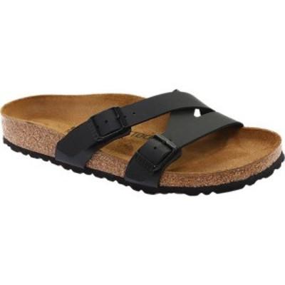 ビルケンシュトック Birkenstock レディース サンダル・ミュール シューズ・靴 Yao Birko-Flor Slide Black Birko Flor