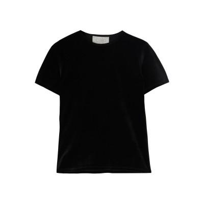 CALÉ T シャツ ブラック XS コットン 40% / レーヨン 40% / ナイロン 20% T シャツ