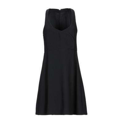 ジャンバティスタ ヴァリ GIAMBATTISTA VALLI ミニワンピース&ドレス ブラック S レーヨン 100% / シルク ミニワンピース