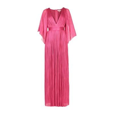 マリア・ルーシア・ホーハン MARIA LUCIA HOHAN ロングワンピース&ドレス フューシャ 42 シルク 100% ロングワンピース&ドレス
