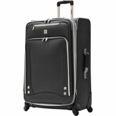 Olympia  旅行用品 キャリーバッグ Olympia USA Skyhawk Exp. 30&#034 Upright - Black Softside Checked NEW