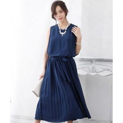 ドレス シフォンプリーツワンピース ロングスカート/結婚式ワンピース お呼ばれ・二次会・セレモニー大きいサイズ対応フォーマルパーティードレス