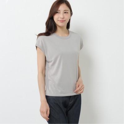 ガーメントウォッシュフレンチスリーブTシャツ(ジムフレックス/Gymphlex)