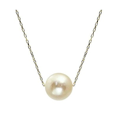 [シアーズ]Sears パール ネックレス 18金 K18 ネックレス あこや真珠 1粒 スルーデザイン イエローゴールド sp46-0002-