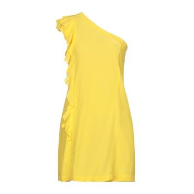 PEPITA ミニワンピース&ドレス イエロー 42 レーヨン 100% ミニワンピース&ドレス
