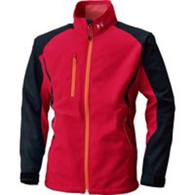 ビッグボーンビッグボーン商事 空調風神服 長袖ジャケット※服単体 レッド×ブラック L(取寄品)
