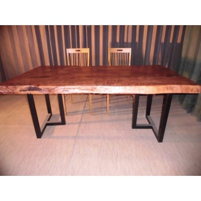 l-006■ 栃 トチ ダイニングテーブル 豪華テーブル ローテーブル ダイニング カウンター 座卓 天板 無垢一枚板