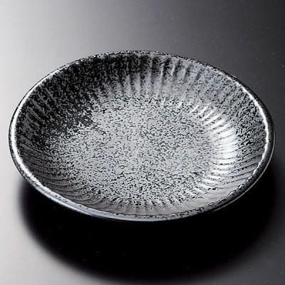(業務用・16cm)ソギいぶし黒中皿[32922-318](入数:1)