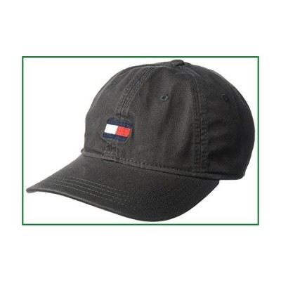 【TOMMY HILFIGER】トミーヒルフィガー ベースボールキャップ 帽子 CAP ダークグレー (Charcoal)