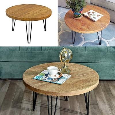コーヒーテーブル 天然木製 ナチュラルでアンティークなデザイン アメリカ輸入家具 木製テーブル アメリカ家具 引越祝い ギフト