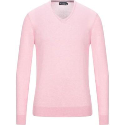 ハケット HACKETT メンズ ニット・セーター トップス sweater Pink