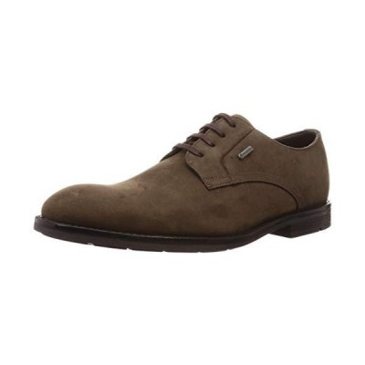 [クラークス] ビジネスシューズ 革靴 ロニーウォークGTX 本革 メンズ ダークブラウンヌバック 26 cm
